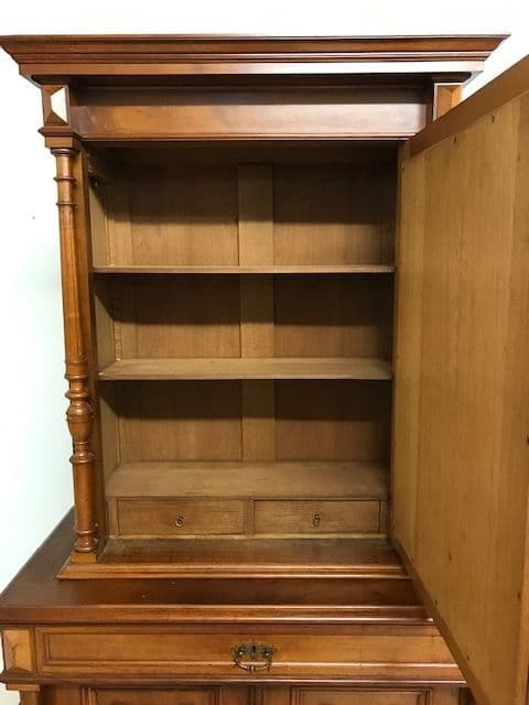 sold - Antique French Cupboard / Cabinet - ca116
